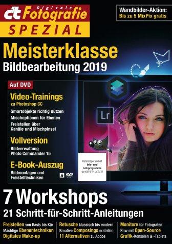 c't Fotografie Spezial: Meisterklasse Bildbearbeitung 2019