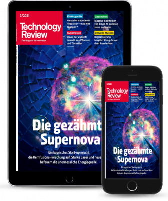 Technology Review Geschenkabo Digital