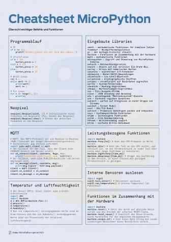 Bundle Make MicroPython Special (Heft + PDF)