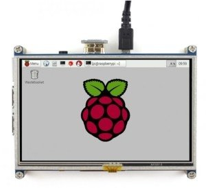 "5"" Touchscreen Display für Raspberry Pi"