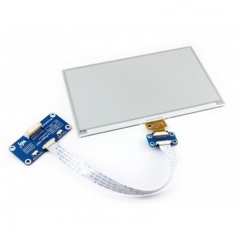 "7.5"" 640x384 ePaper Display HAT für Raspberry Pi"