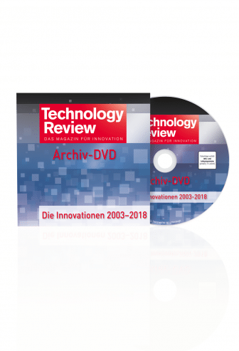 Technology Review Archiv 2003 - 2018