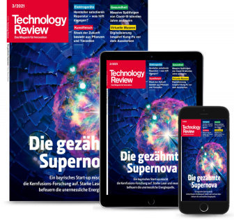 Technology Review Geschenkabo Plus