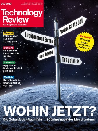 Technology Review 05/2019