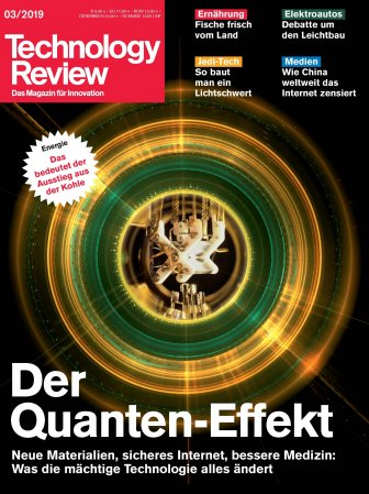 Technology Review 03/2019
