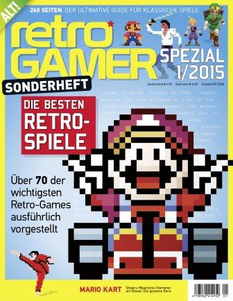 Retro Gamer Sonderheft 1/2015 (Die besten Retro-Spiele)