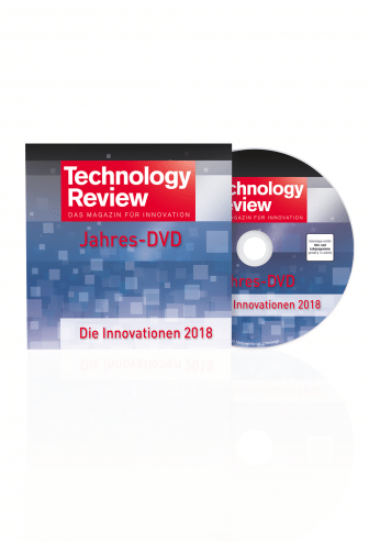 Technology Review Jahres-DVD 2018