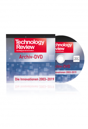 Technology Review Jahres-DVD 2003-2019