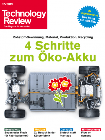 Technology Review 07/2019