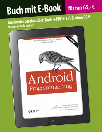 Android Programmierung incl. E-Book