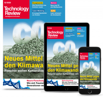 Technology Review Schüler- & Studentenabo Plus