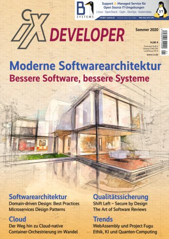 iX Developer Moderne Softwarearchitektur 2020