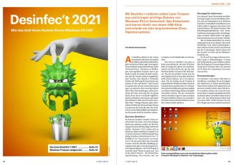 c't 12/2021 auf Desinfec't-Stick
