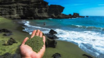 Grüner Sand als Klimahoffnung