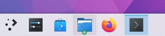 Die Fensterleiste orientiert sich standardmäßig an Windows 10. Das lässt sich jedoch in den Systemeinstellungen ändern.
