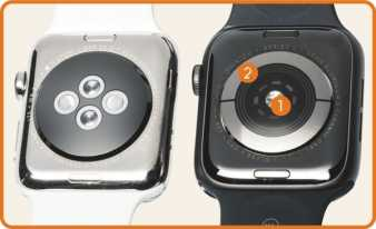 Apple Watch 4 sensors