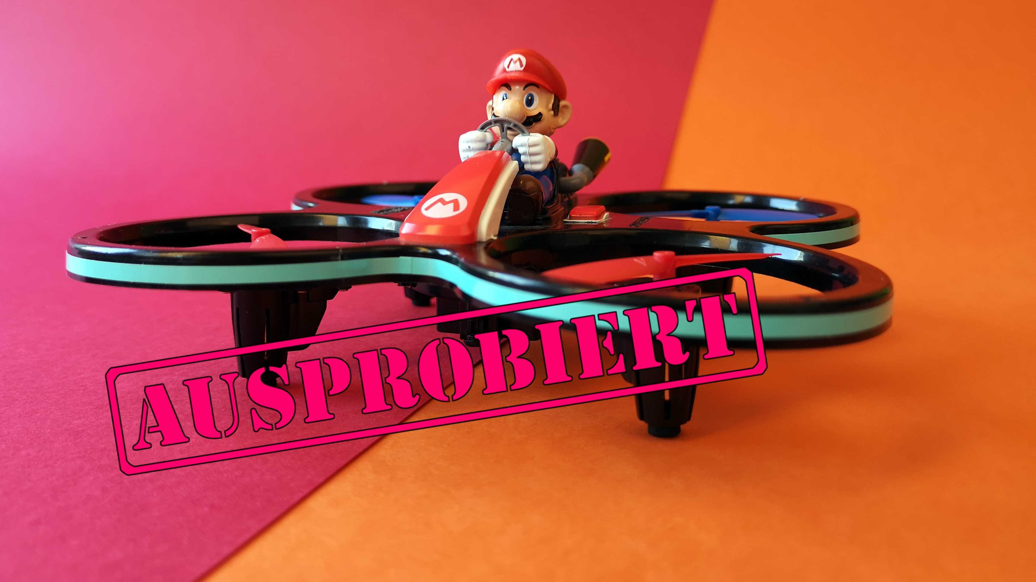 Mini-Mario-Copter von Carrera im Test: Einfach spaßig