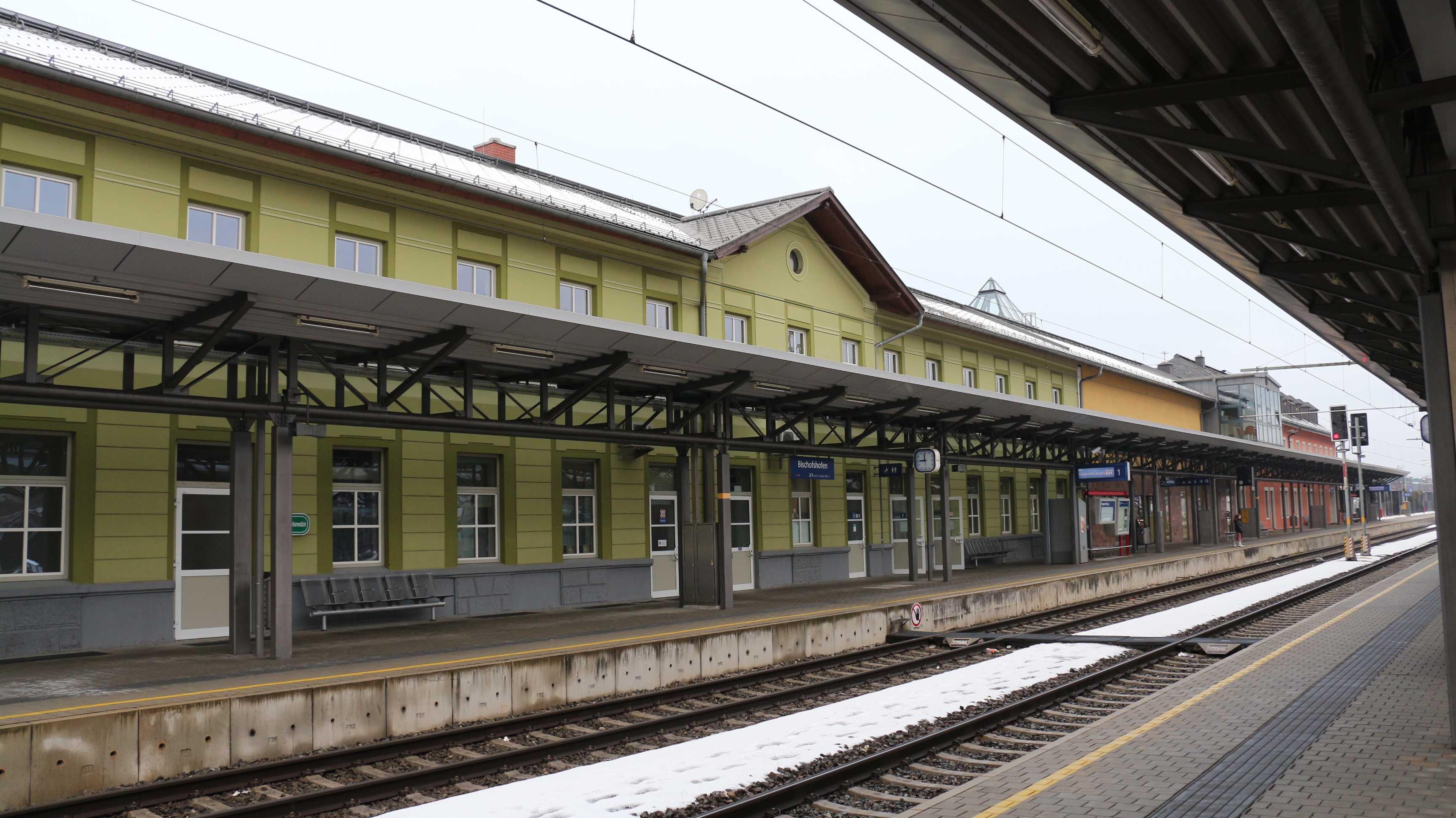 Bahnhof Bischofshofen