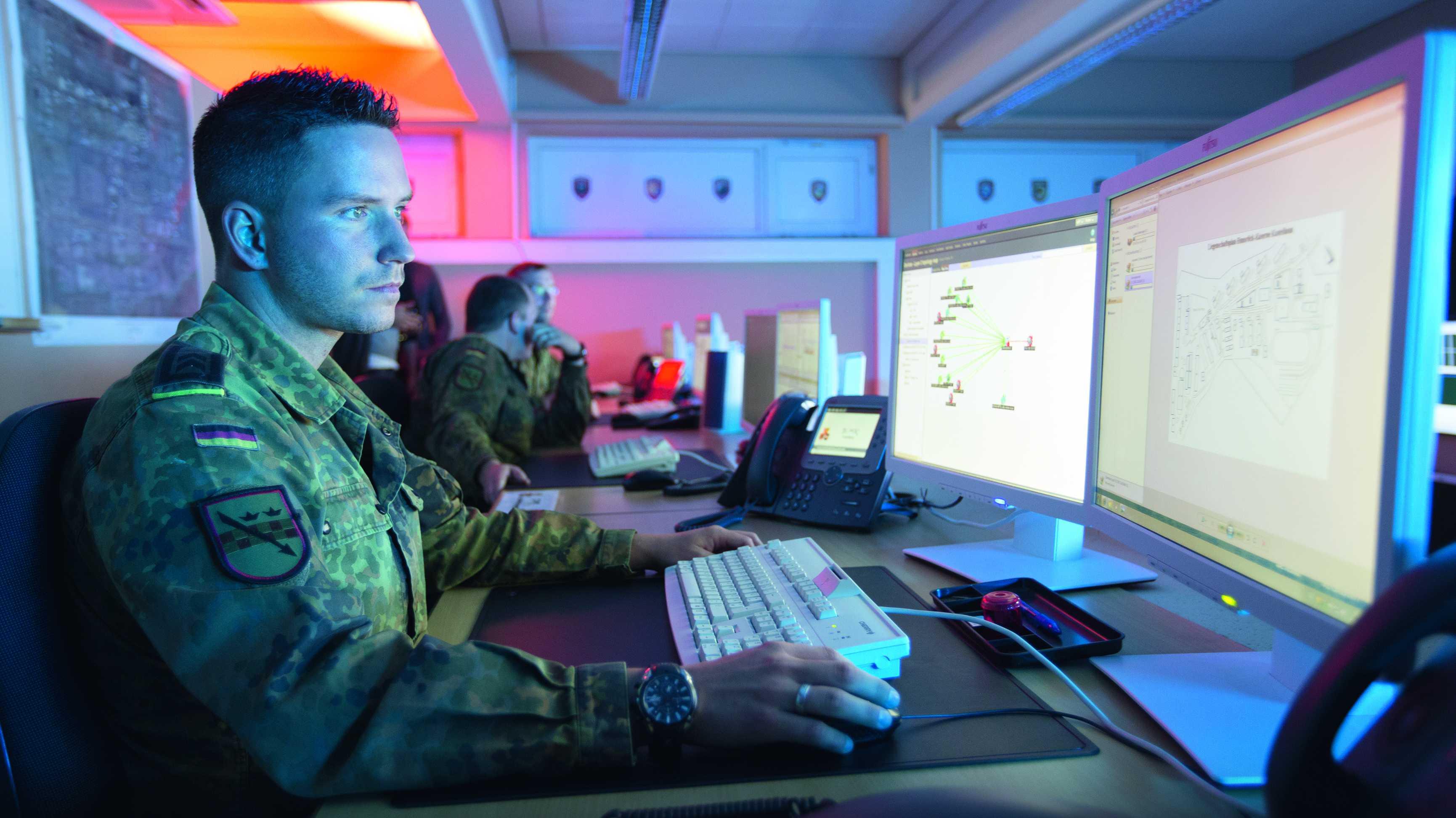"""""""Cyber Days"""": Bundeswehr sucht IT-Spezialisten"""