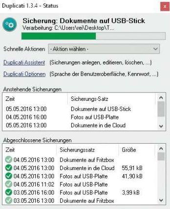 Das Open-Source-Tool Duplicati sichert Ihre unersetzlichen Dateien an Orten, die Krypto-Trojaner nicht ohne Weiteres erreichen.