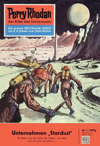 """Der erste """"Perry Rhodan"""" erschien  am 8. September 1961."""