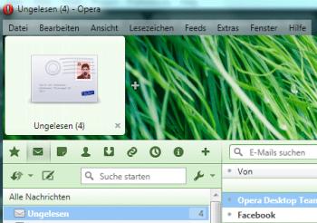 Screenshot Opera 12