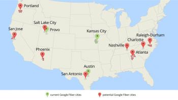 Google Fiber Karte