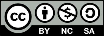 Dieses Logo weist auf Creative Commons Material hin, das im nicht-kommerziellen Rahmen verbreitet werden darf.