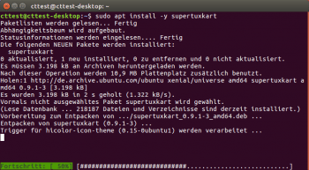 Neues Kommando: Die Befehle zur Installation von Paketen auf der Konsole sind mit [code]apt[/code] nun etwas kürzer.