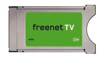 Wer am Smart-TV außer den öffentlich-rechtlichen Programmen von ARD und ZDF auch Privatsender empfangen will, braucht ein CAM von Freenet zur Entschlüsselung.