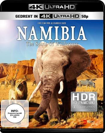 """Die UHD-Blu-ray """"Namibia"""" von Busch Media bietet als erste deutsche 4K-Scheibe Videos im 2160p50-Format mit erhöhtem Kontrast (HDR)."""