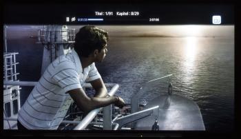Die Informationen, die der Samsung-Player bei der Wiedergabe einer UHD-Blu-ray liefert, sind recht mager. Stellt der Fernseher diese Informationen ebenfalls nicht bereit, ist bei Problemen die Fehlersuche schwierig.
