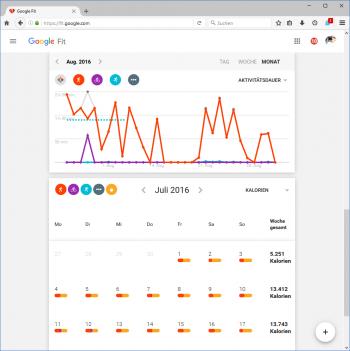 Bei den meisten Trackern landen die Körperdaten in der Cloud.