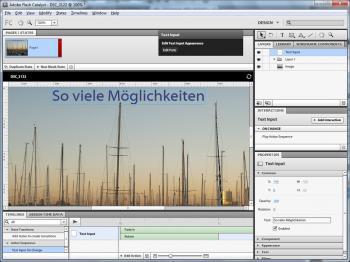 Mit der Neuentwicklung Flash Catalyst will Adobe den Einstieg in die Flash-Welt erleichtern.