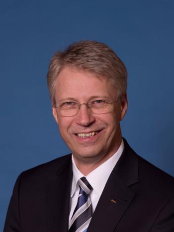 Thomas Reiter, ESA-Direktor für bemannte Raumfahrt und ehemaliger Astronaut