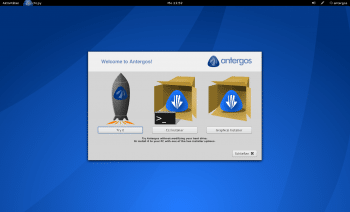 Antergos Desktop