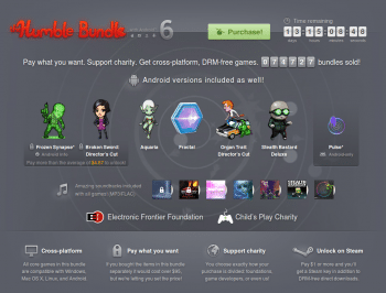 Humble Bundle with Android 6