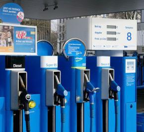 Benzinpreise, Tanklstelle, Aral