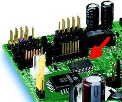 Das Infineon-TPM auf Intels D915GUX