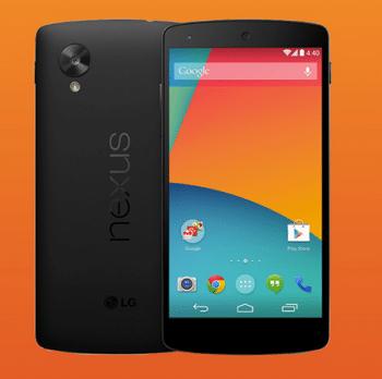Google Nexus 5 mit Android 4.4 Kitkat