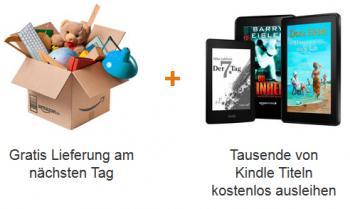 Bislang umfasste Amazon Prime eine beschleunigte Lieferung und den Zugriff auf die Kindle-Leihbücherei.