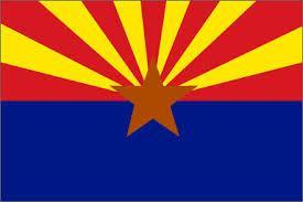 Flagge von Arizona.