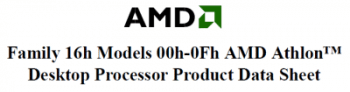 "AMD Athlon ""Bhavani"" (Family 16h)"