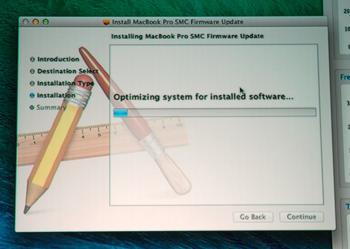 Das fatale Firmware-Update hat ein seriöses Äußeres.