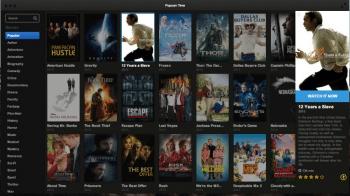 Popcorn Time sah aus wie Netflix oder ein anderes VoD-Angebot, speiste sich allerdings aus Torrents.