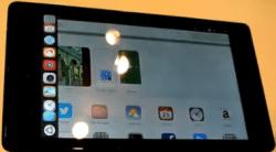 Ubuntu für Tablets auf einem Nexus 7.