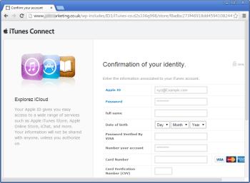 WordPress-Phishing