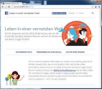 Das Portal bietet einen guten ersten Überblick zum Thema Datenschutz im Internet.