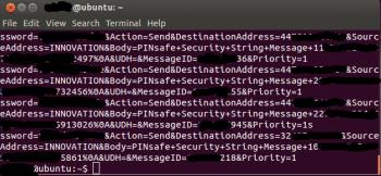 SMS-Nachrichten von PINsafe, einem Dienst zur Mehrfaktor-Authentifikation.